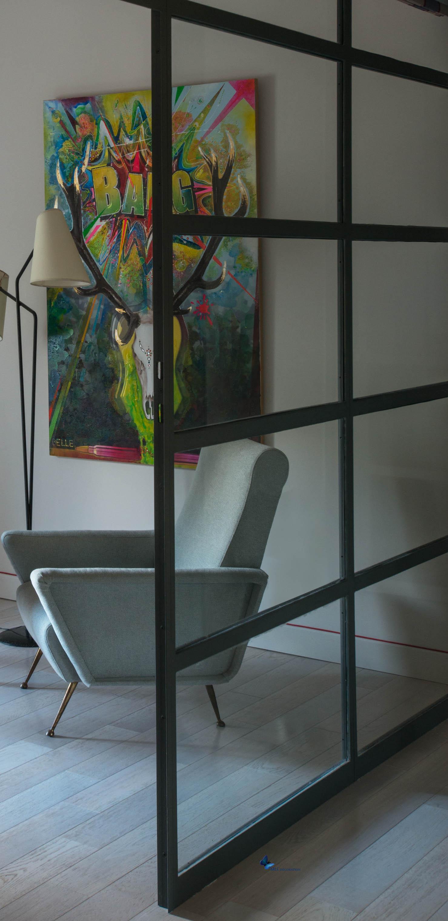 Aménager son intérieur avec des cloisons vitrées déco   le blog ...