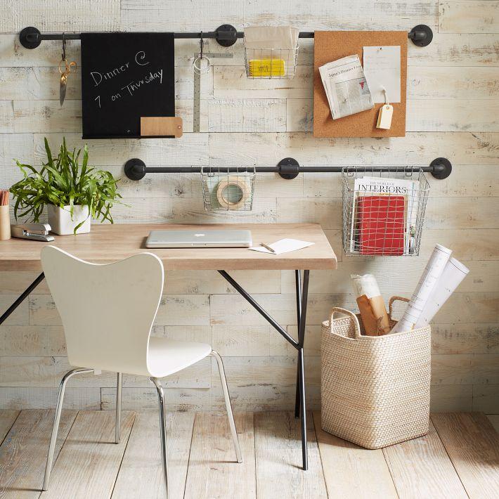 une d co de bureau bien agr able le blog d co de mlc. Black Bedroom Furniture Sets. Home Design Ideas
