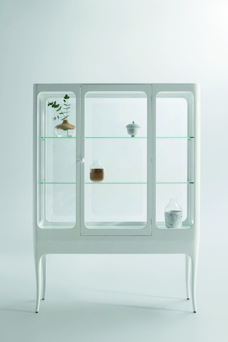 Vitrine pour collection ikea for Meuble vitrine ikea