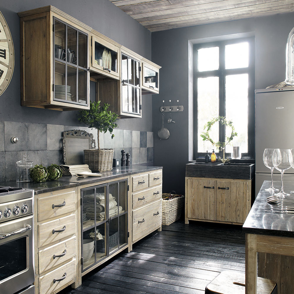 meubles de cuisine en bois archives le blog d co de mlc. Black Bedroom Furniture Sets. Home Design Ideas