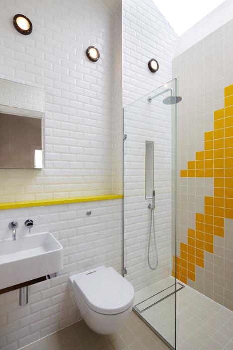 salle de bain blanche et jaune Archives - Le Blog déco de MLC