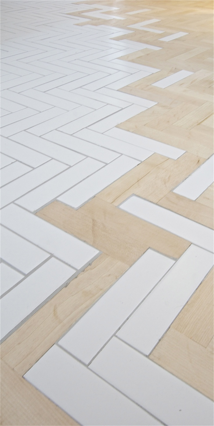 Alternance parquet et carrelage archives le blog d co de mlc - Carrelage motif parquet ...