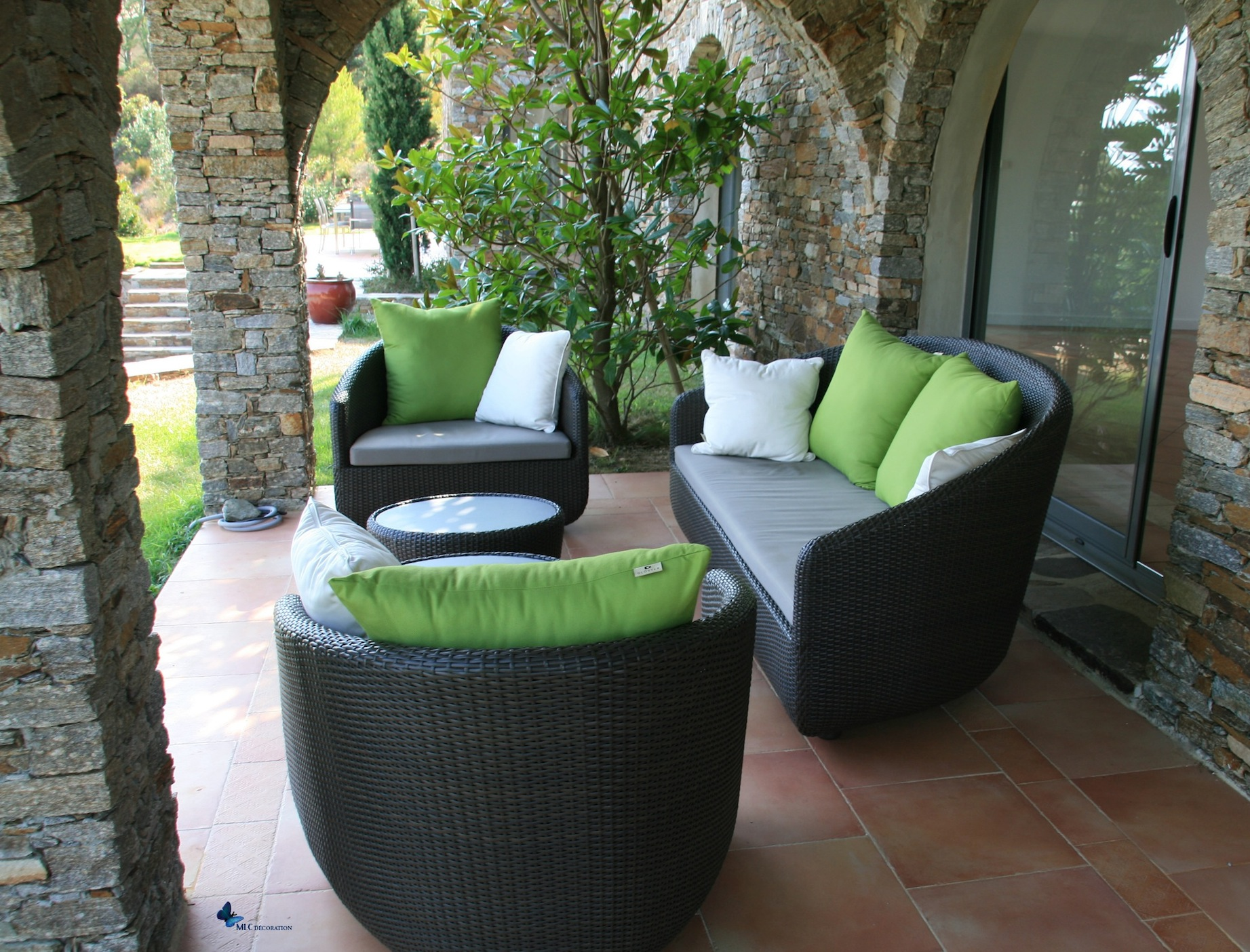 Canap ext rieur design archives le blog d co de mlc for Decoration jardin exterieur design