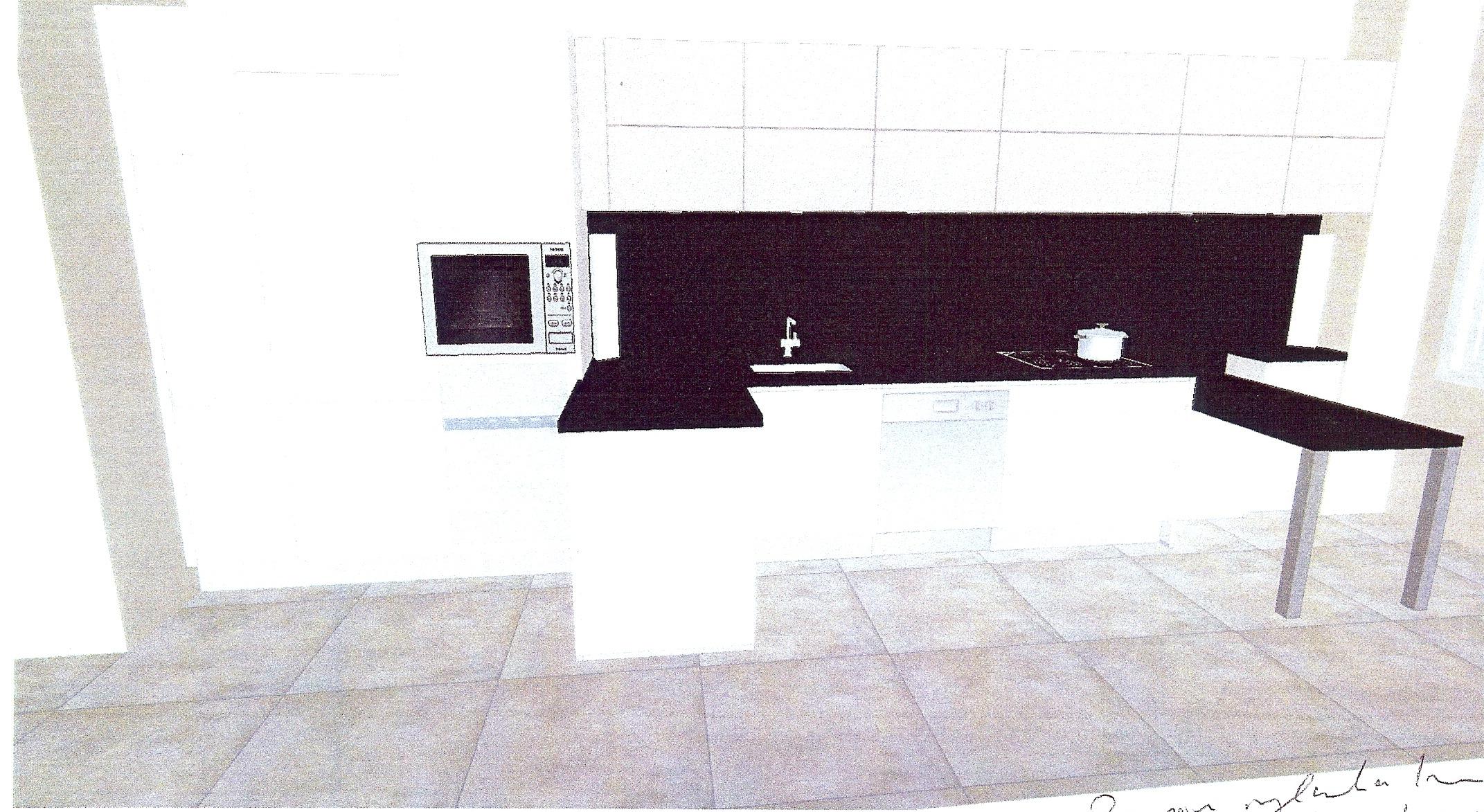 1000 ideas about petite cuisine on pinterest kitchens - Cuisine amenagee en longueur ...