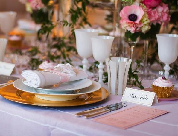 Longueur nappe archives le blog d co de mlc - Comment disposer les tables pour un mariage ...