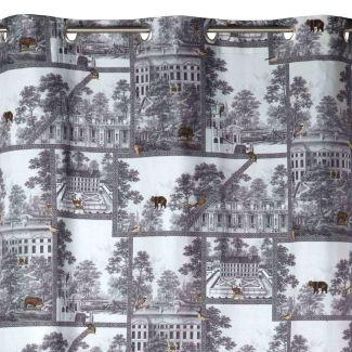 paul et joe madura rideaux oeillets toile de jouy. Black Bedroom Furniture Sets. Home Design Ideas
