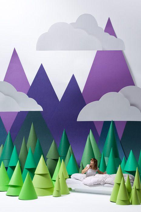 chambre-enfant-deco-mur-montagnes-silhouette-T H E B O R D E R-Carolin-Wanitzek-Behance