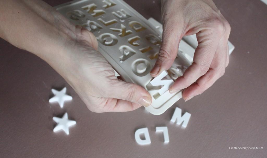 DIY-déco-facile-étoiles-et-lettres-en plâtre-demoulage-final