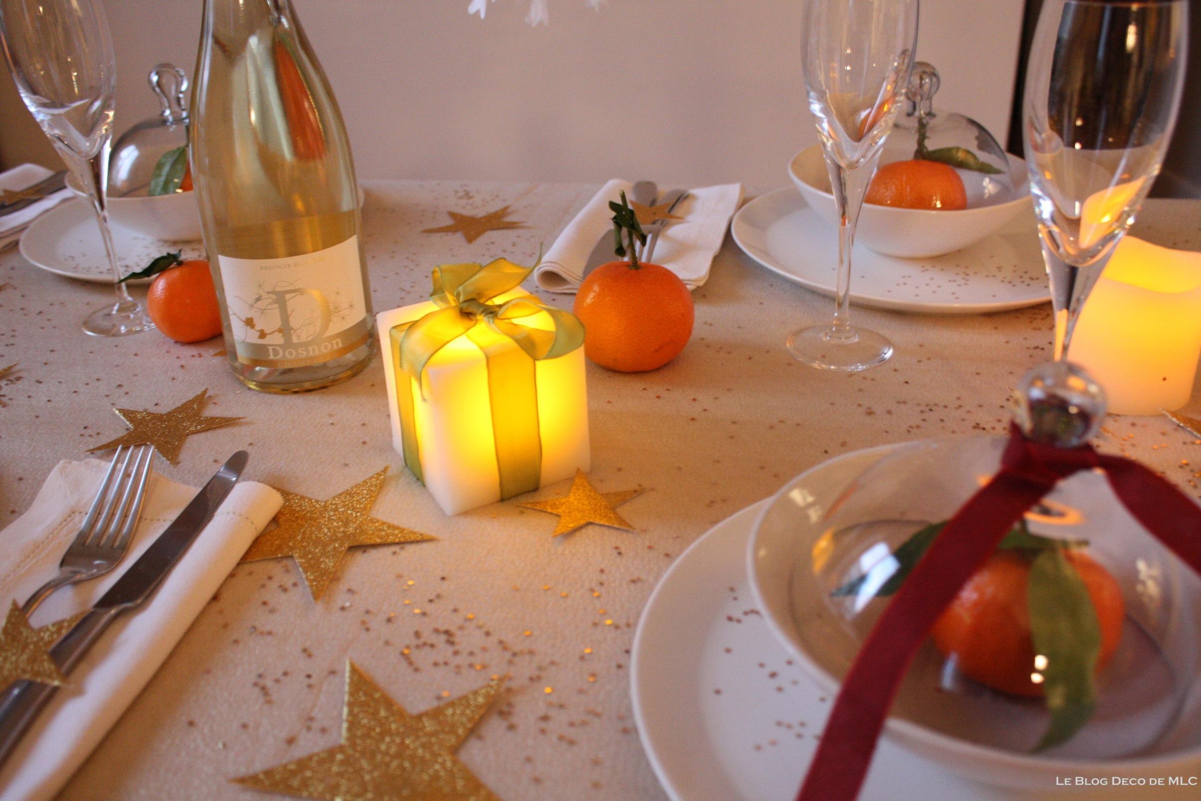 no l d co champagne et bougies led pour une f te magique le blog d co de mlc. Black Bedroom Furniture Sets. Home Design Ideas