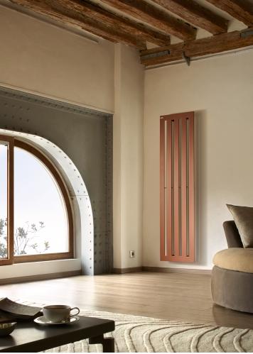 Radiateurs design chauffage for Miroir dans le salon