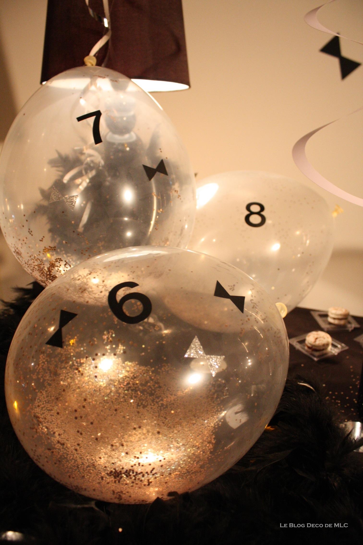 D coration r veillon nouvel an le blog d co de mlc for Decoration nouvel an