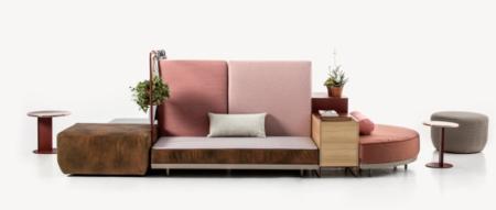 Le-canapé-ilot-une-autre-façon-d-aménager-son-salon-moroso-bikini-rose