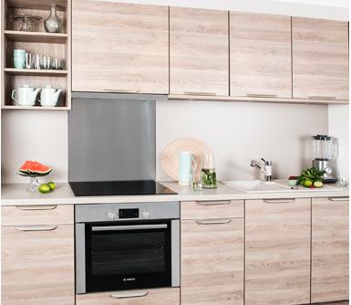 Meubles cuisine bois brut meuble haut de cuisine en bois for Meuble cuisine bois clair