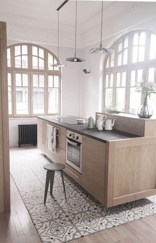cuisine quip e le grand retour des meubles en bois. Black Bedroom Furniture Sets. Home Design Ideas