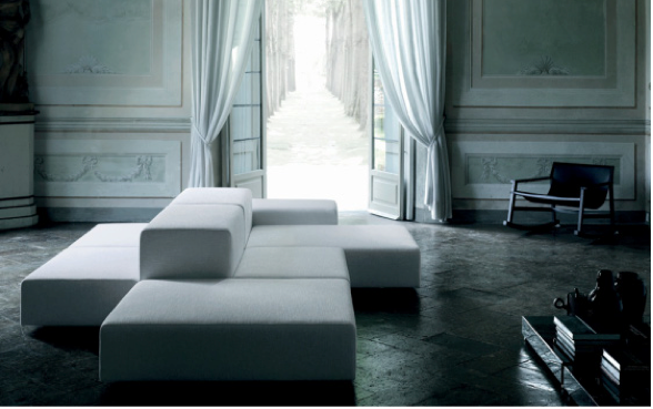 le canap ilot canap double face pour double salon s jour. Black Bedroom Furniture Sets. Home Design Ideas