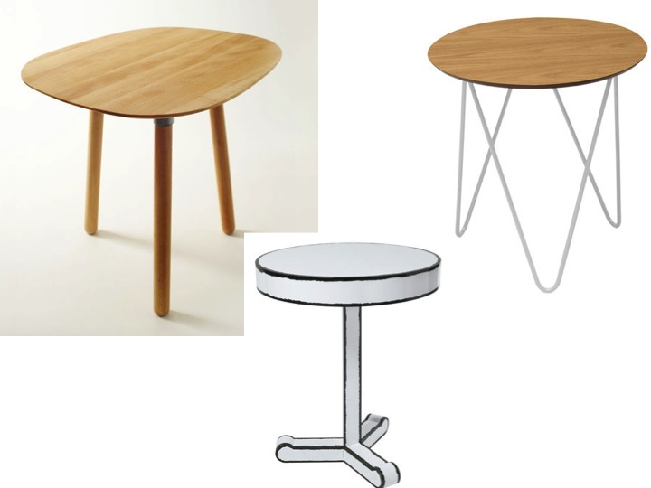 Les 10 plus jolies petites tables basses rondes le blog for Table de chevet basse