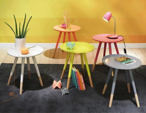 Les 10 plus jolies petites tables basses rondes le blog for Table salon maison du monde