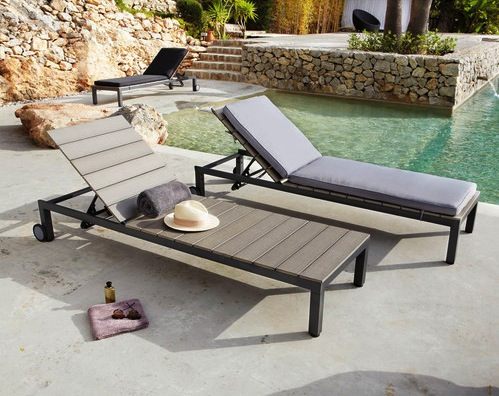 Bain de soleil archives le blog d co de mlc for Mobilier jardin chaise longue