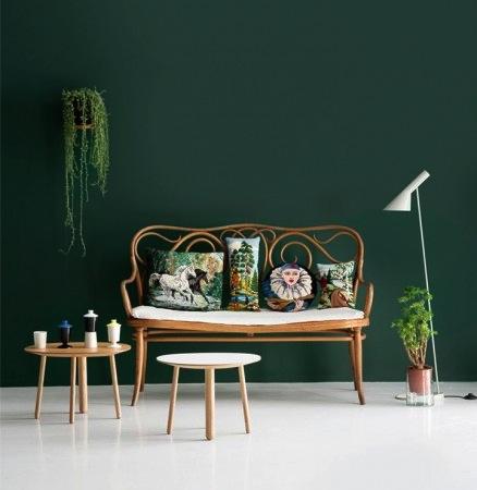 mur vert meraude et ses associations dans ma d co le blog d co de mlc. Black Bedroom Furniture Sets. Home Design Ideas