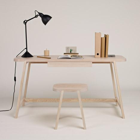 Bureau design bureau moderne en bois m tal blog deco mlc - Bureau design moderne ...
