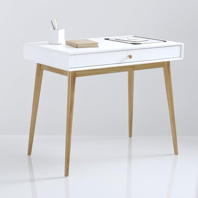 Bureau la redoute archives le blog d co de mlc for Bureau simple blanc