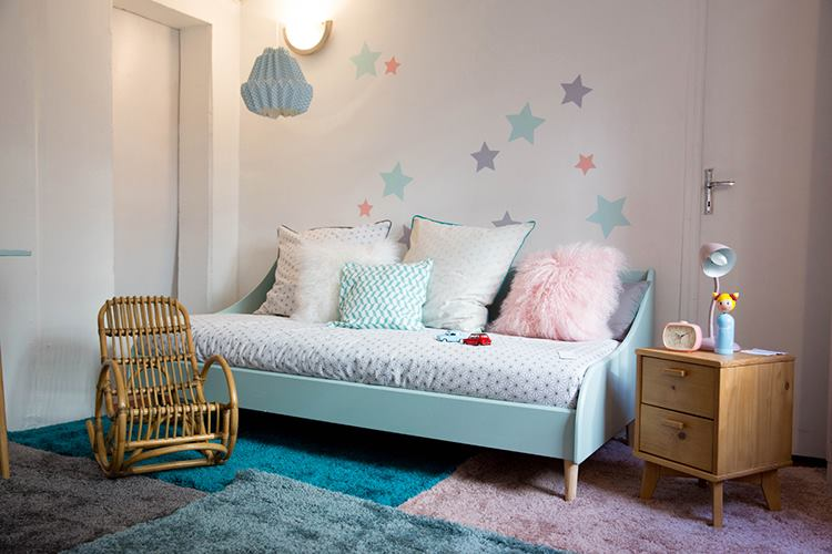 Chambre fille archives le blog d co de mlc for Chambre adulte couleur pastel