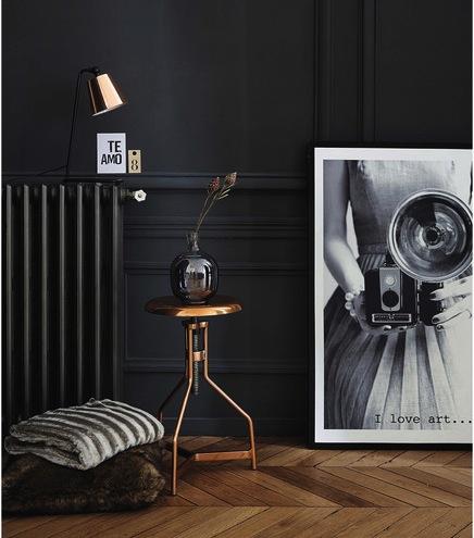 luminaire cuivre nouveauté lampe tabouret Maison du monde