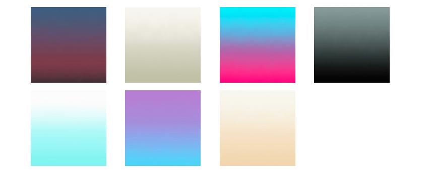 papier peint tie and dye sunrise Aurora nuancier