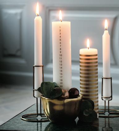 une bougie comme calendrier de l 39 avent original blog deco mlc. Black Bedroom Furniture Sets. Home Design Ideas