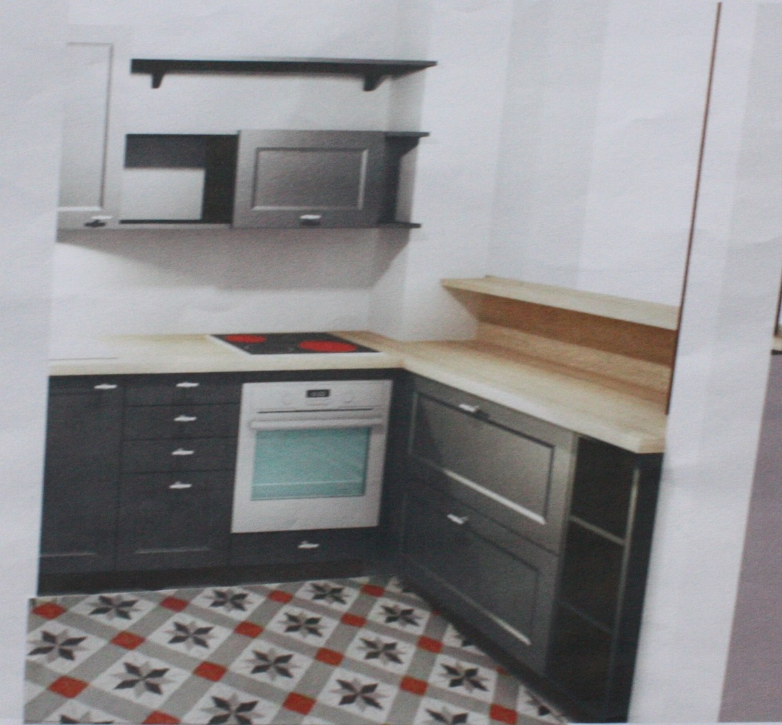Inspiration cuisine bistrot projet en cours le blog for Agencement cuisine style bistrot