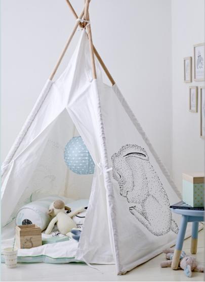 tipi enfant pour une chambre d co le blog deco de mlc. Black Bedroom Furniture Sets. Home Design Ideas