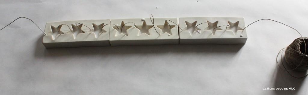 diy-deco-noel-a-fabriquer-guirlande-etoile-platre-ficelle sechage