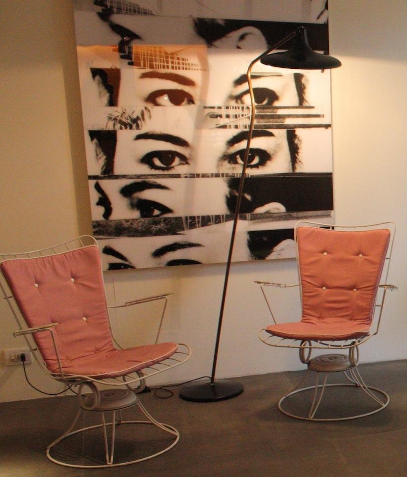 fauteuil-rose-couleur-vintage
