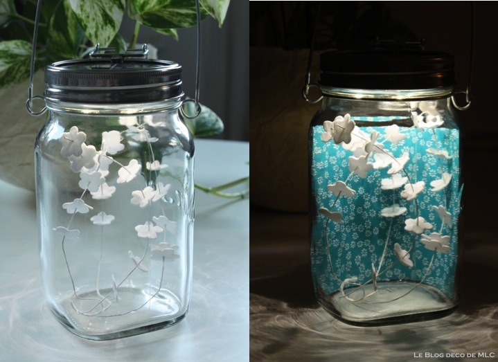 Diy le blog d co de mlc for Lampe deco exterieur