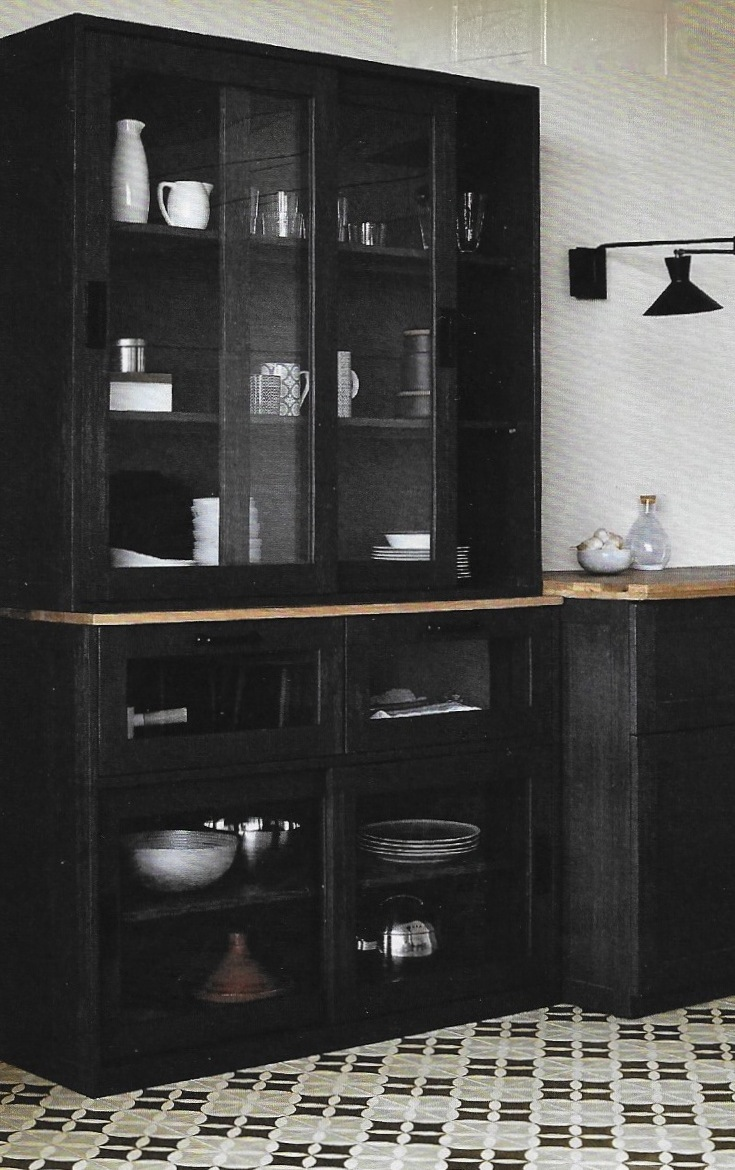 cuisine bois noir archives le blog d co de mlc. Black Bedroom Furniture Sets. Home Design Ideas