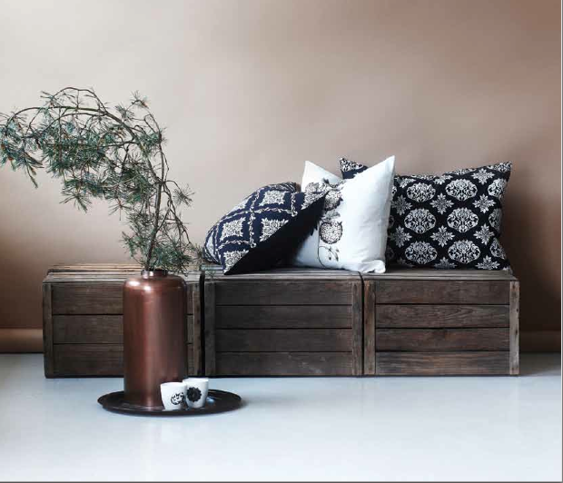 cagette en bois les recycler et d tourner en meuble d co. Black Bedroom Furniture Sets. Home Design Ideas