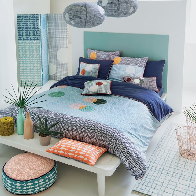 Chine belle and turquoise on pinterest for Housse de couette tendance