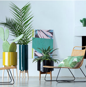 Pot suspendu archives le blog d co de mlc - Plante interieur design ...