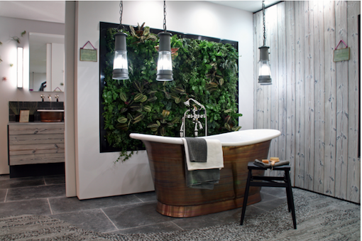 tableau-vegetal-sdb-baignoire-cuivre