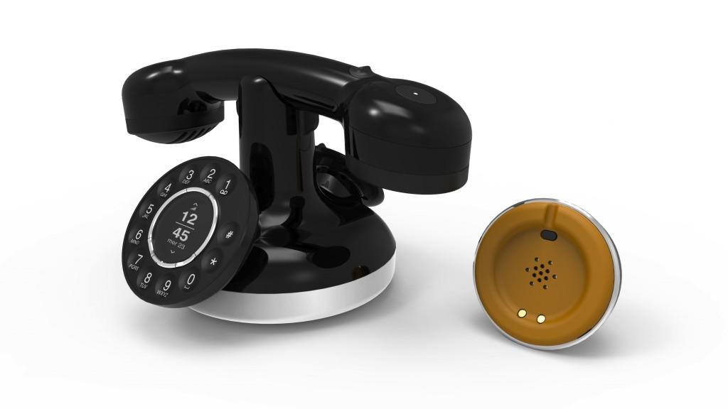 telephone fixe vintage. Black Bedroom Furniture Sets. Home Design Ideas
