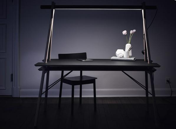 Un joli bureau astucieux et design le déco de mlc