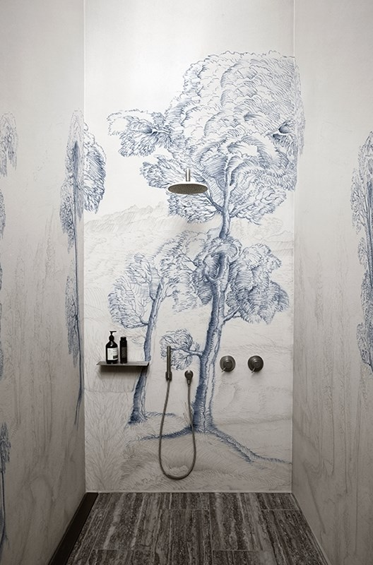 papier peint salle de bain archives le blog d co de mlc. Black Bedroom Furniture Sets. Home Design Ideas
