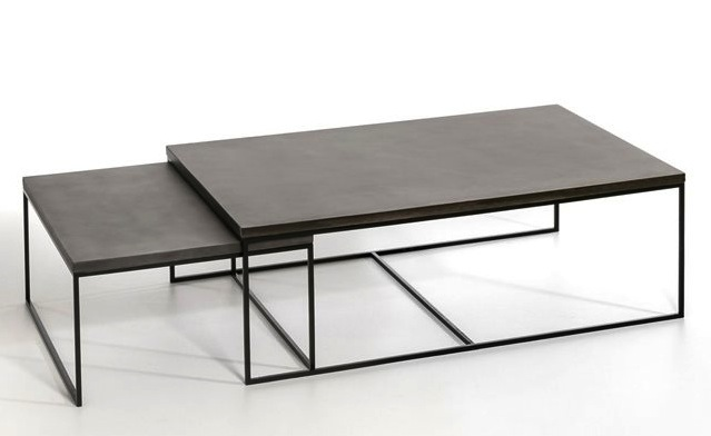 Table basse gigogne design sammlung von for Table basse tripode gigogne