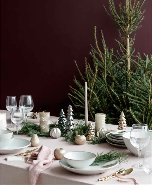No l d co s lection des essentiels pour table et sapin - Decoration de table de noel ...