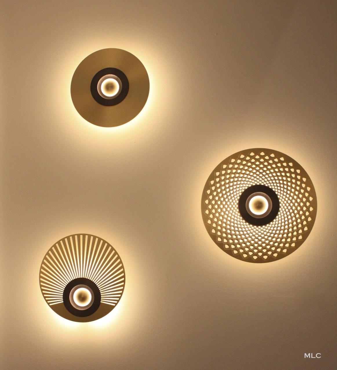 les nouvelles appliques et suspensions design laiton et cuivre. Black Bedroom Furniture Sets. Home Design Ideas