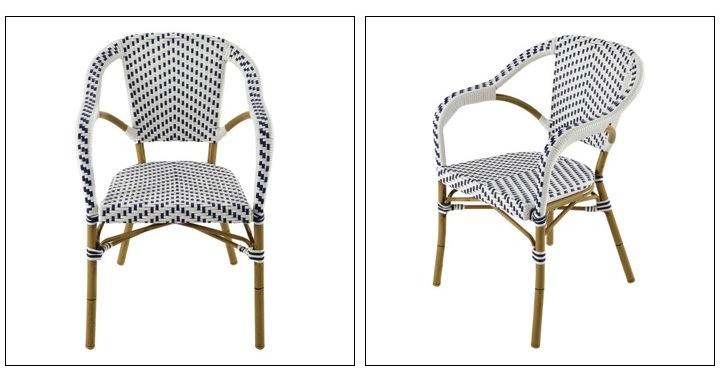 La plus belle chaise bistrot de terrasse for Chaise bistrot maison du monde