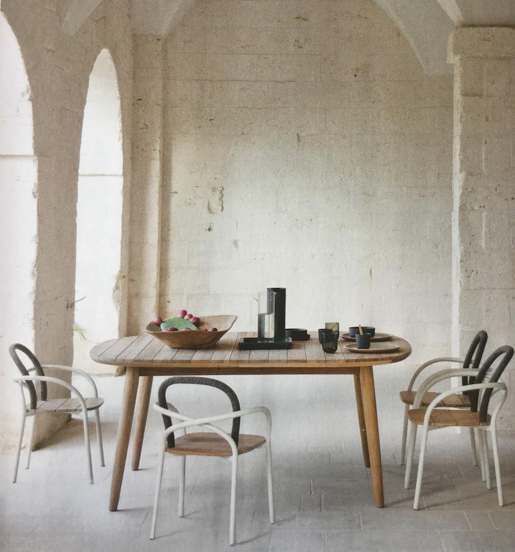 ambiance d co bois et blanc la salle manger le blog d co de mlc. Black Bedroom Furniture Sets. Home Design Ideas