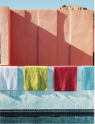 Couleur corail inspiration pour la maison blog d co de mlc for Couleur mur exterieur