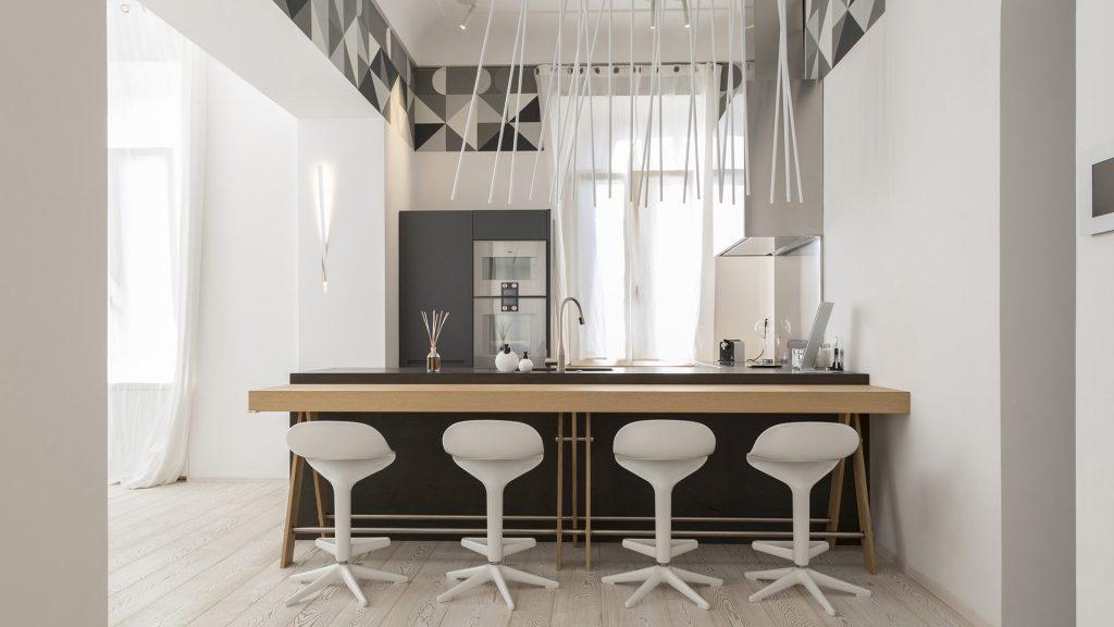 tabouret pour ilot de cuisine hauteur standard pour comptoir de cuisine de cuisine taille. Black Bedroom Furniture Sets. Home Design Ideas