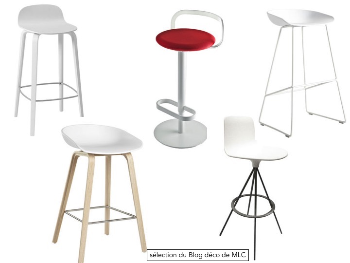 tabouret d ilot de cuisine tabouret de bar cuisine argent. Black Bedroom Furniture Sets. Home Design Ideas